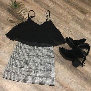 Cute Black Cocktail Dress